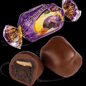 """Конфеты шоколадные Skava """"Чернослив с грецким орехом"""""""