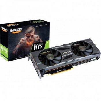 Відеокарта INNO3D GeForce RTX2070 SUPER 8192Mb TWIN X2 OC (N207S2-08D6X-11801167)