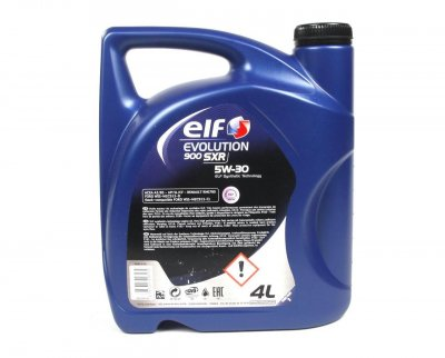 Моторное масло Elf Evolution 900 SXR 5W30 (4л)