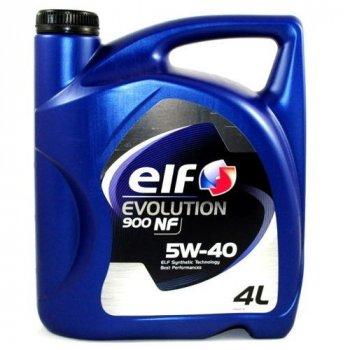 Моторное масло Elf Evolution 900 NF 5W40 (4л)