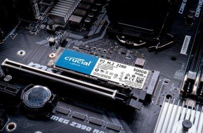 SSD накопичувач Crucial P2 500GB M. 2 2280 PCIe 3.0 x4 TLC (CT500P2SSD8)