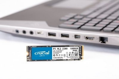 SSD накопичувач Crucial P1 1TB M. 2 2280 PCIe 3.0 x4 3D NAND (CT1000P1SSD8)