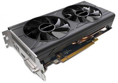 Sapphire PCI-Ex Radeon RX 570 Pulse 8GB GDDR5 (256bit) (1254/7000) (DVI-D, HDMI, DisplayPort) (11266-78-20G)