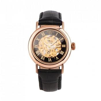 Часы из красного золота с механизмом скелетон 000127223