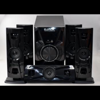 Система акустическая 5.1 Djack DJ-4050 (80 Вт), караоке , акустика , домашний кинотеатр , колонки ,музыкальный центр, черная