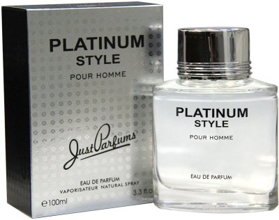 Туалетная вода для мужчин Just Parfums Platinum Style Pour Homme 100 мл (8907202001892)