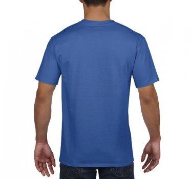Футболка Gildan Premium Cotton 4100-7686C Синя
