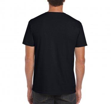 Футболка Gildan Softstyle 64000-426C Чорна
