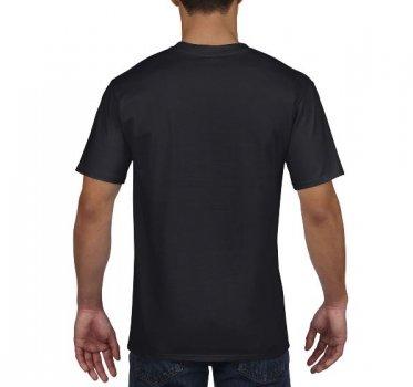 Футболка Gildan Premium Cotton 4100-426C Чорна