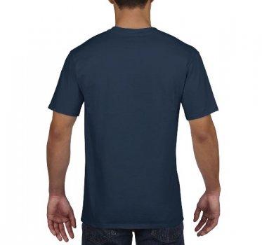 Футболка Gildan Premium Cotton 4100-533C Темно-синя