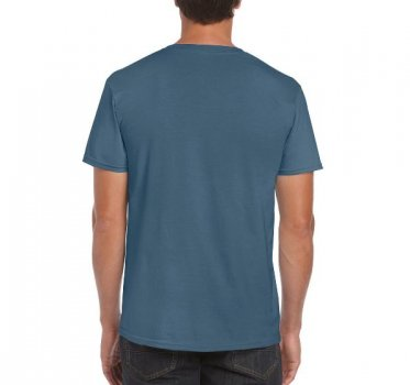 Футболка Gildan Softstyle 64000-5405C Синя