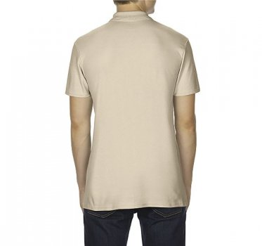 Поло Gildan Softstyle 64800-7528C Бежевое