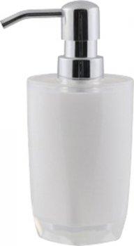 Дозатор для рідкого мила AXENTIA Graz 17х7.5 см 128546 білий
