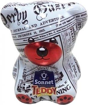 Чайный набор-копилка Sonnet Teddy Утренняя Пресса 25 экспресс-пакетиков (4820082708351)