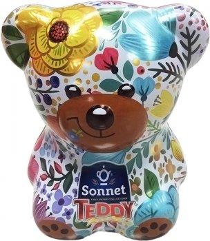 Чайный набор-копилка Sonnet Teddy Цветочный 25 экспресс-пакетиков (4820082708375)