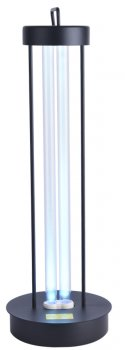 Бактерицидная настольная лампа Ultralight UL 2 36Вт черная