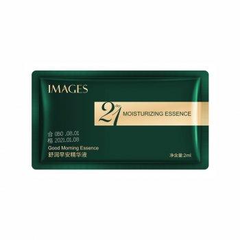 Ранкова зволожувальна сироватка для шкіри обличчя Images 21 Day Moisturizing Good Morning Essence 2 мл (NO.XXM41963)