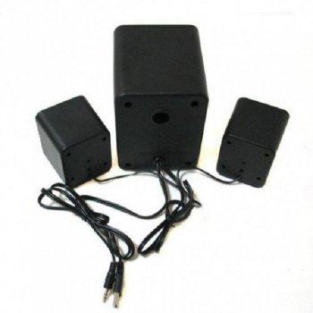 Колонки SPEAKER FT-202 для ноутбука и компьютера акустика 2.1 с сабвуфером Белые (OL-4176608)