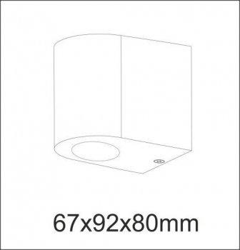Настінний світильник Polux 304575 BOSTON