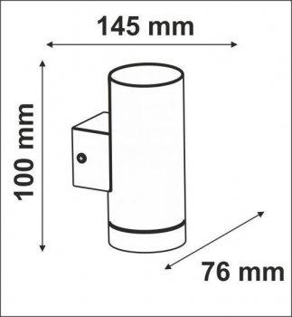 Настінний світильник Polux 304094 OTTO