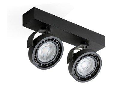 Спот Azzardo GM4205-230V JERRY 2 230V LED 16W BK (5901238415077)