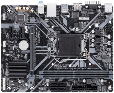 Материнська плата Gigabyte H310M H 2.0 Socket 1151 (WY36dnd-257856)