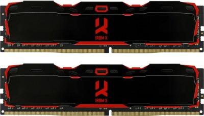 Оперативная память Goodram DDR4-3000 32768MB PC4-24000 (Kit of 2x16384) IRDM X (IR-X3000D464L16/32GDC)