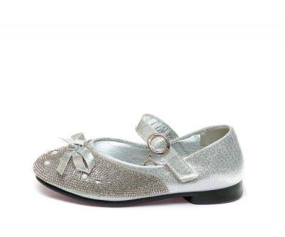 Балетки Fashion B-3 срібло