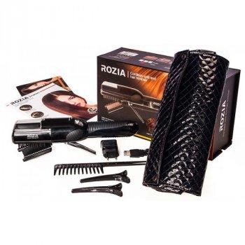 Машинка для стрижки секущихся кончиков волос беспроводная аккумуляторная в чехле Rozia HCM-5007