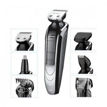 Професійний набір для стрижки волосся і бороди Gemei GM-582 8 в 1