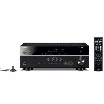 Акустичні системи Yamaha Kino System 385 (RX-V385 + NS-F51 + NS-P51) Black
