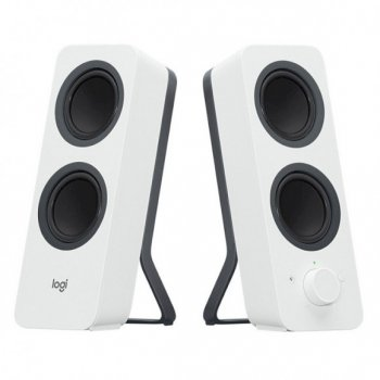 Активная акустика Logitech Z207 Bluetooth Computer Speakers - Off White