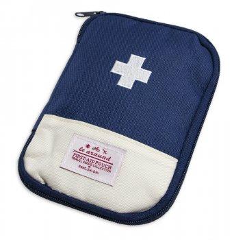 Маленькая личная аптечка-органайзер для лекарств (13х18 см) Синяя, дорожная (1007694-Blue-1)