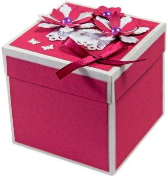 Набір для творчості Умняшка Кардмейкінг. Виготовлення подарункової коробочки (4820129201371) (ОТК-010)