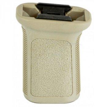 Рукоятка передняя BCM GUNFIGHTER Vertical Grip М3 Picatinny ц:песочный