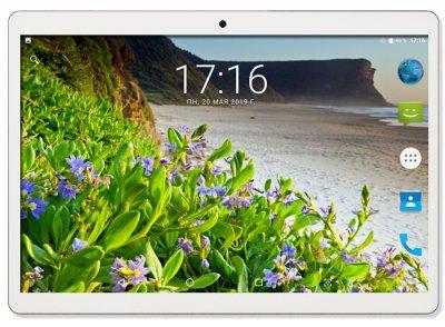 Планшет - телефон Hoozo X1001 Full HD 32Gb LTE Silver + Чехол-книжка + Карта памяти 64GB