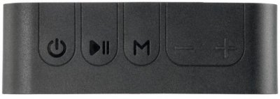 Колонка портативная Bluetooth Krazi Dolphin KZBS-001 Black