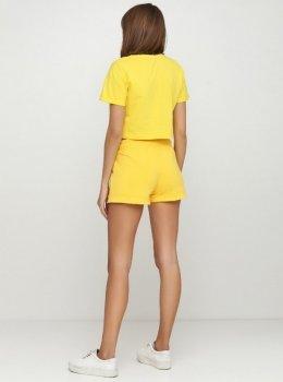 Костюм Solo Спортивный футболка с шортами Желтый Wm737