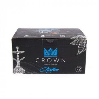 Вугілля кокосовий для кальяну Crown Airfow 1кг