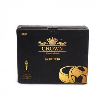 Уголь кокосовый для кальяна Crown Kaloud Edition 1кг