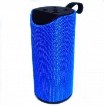 Портативна стерео Bluetooth колонка вологостійка SPS TG-113 Blue (zhb0294)