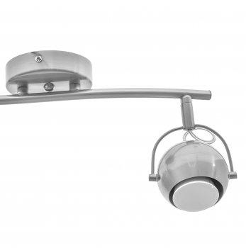 Світильник спотовий Brille HTL-190/2 GU5.3 NI (26-735)