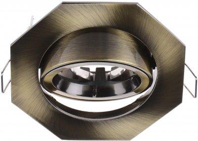 Світильник точковий Brille HDL-DT 18 AB (163663)