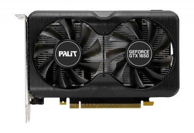Відеокарта GF GTX 1650 Super 4GB GDDR6 GamingPro Palit (NE6165S01BG1-166A)