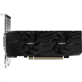 Видеокарта GF GTX 1650 4GB GDDR6 D6 Low Profile OC Gigabyte (GV-N1656OC-4GL)