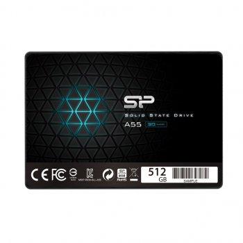 "SSD накопичувач Silicon Power Ace A55 512GB 2.5"" 2280 SATAIII TLC (SP512GBSS3A55S25)"