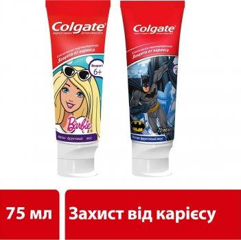 Детская зубная паста Colgate Batman защита от кариеса от 6 лет 75 мл (8714789652917 Batman)