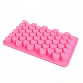 Форма для випічки силікон STENSON 20 х 11.5 х 2 см (3018) Рожевий