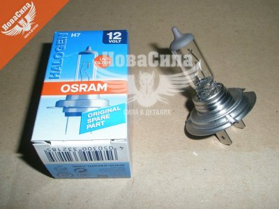 Галогенна Лампочка H7 PX26d 12V-55Вт (Osram) (Standart) 64210