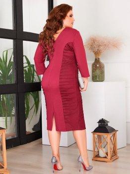 Платье ALDEM 2053 Бордовое